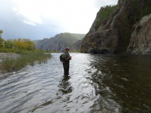 Fishing - Mongolia - 2013